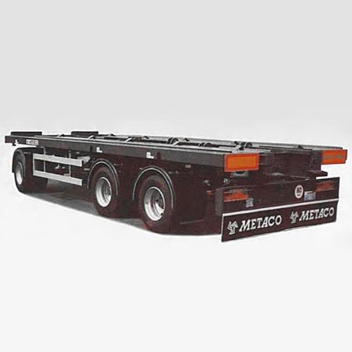 Nákladní přívěs pro přepravu vozidel - METACO BO BR