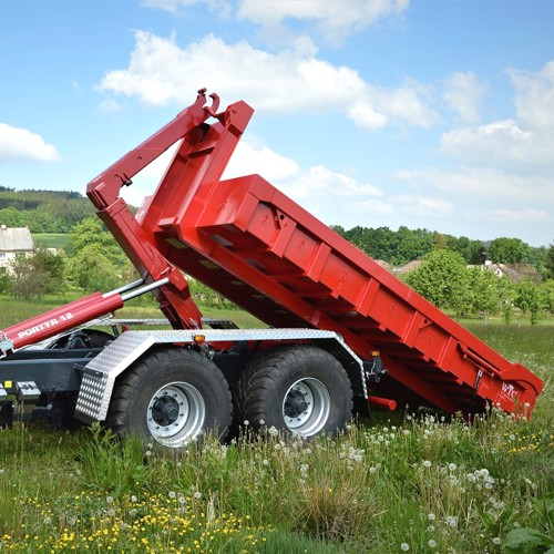 Traktorový nosič kontejneru Portýr 12